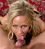 Blonde milf gets roped, ass hooked and fucked