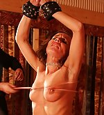 Tied up for an exeptional corporal punishment