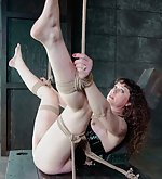 Rope bondage, strap-ons, candles, corporal punishments